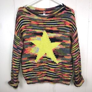 Alice Moon by Moon Collection Star Sweater Sm